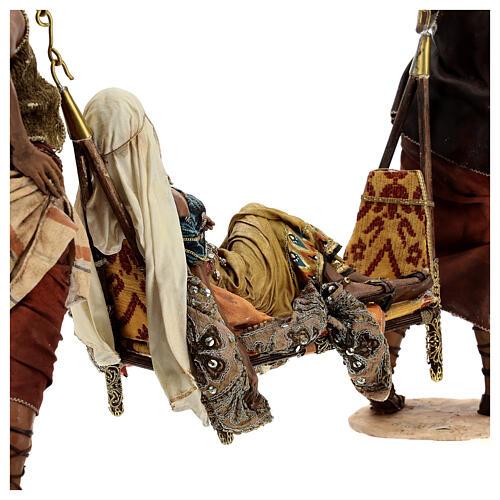 Scène Reine de Saba 30 cm Angela Tripi 16