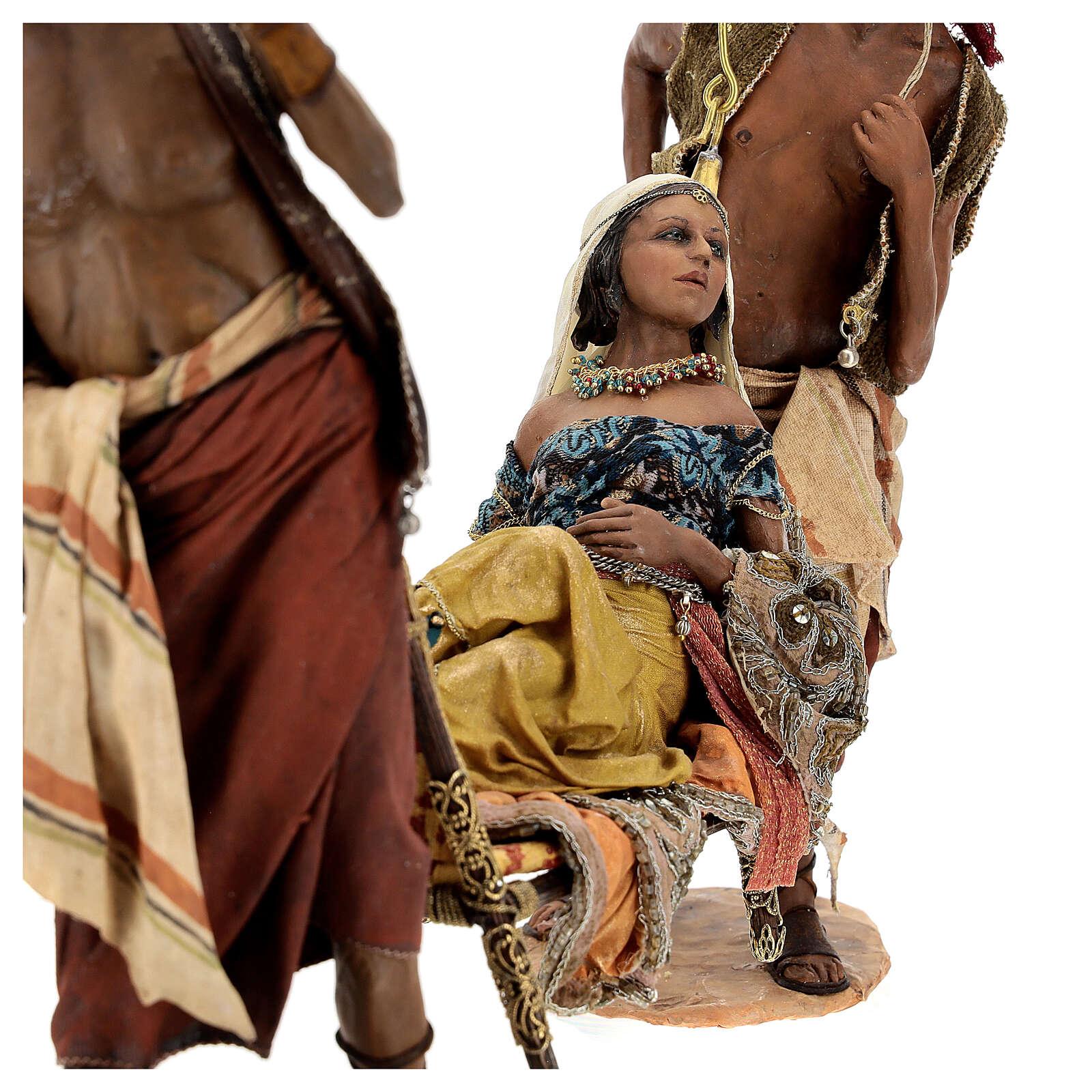 Scena Regina di Saba 30 cm Angela Tripi 4