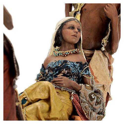 Scena Regina di Saba 30 cm Angela Tripi 9