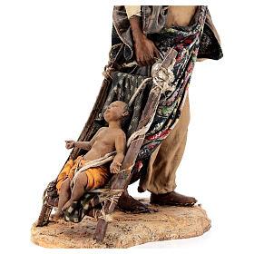 Femme maure avec enfant 30 cm atelier Angela Tripi s10