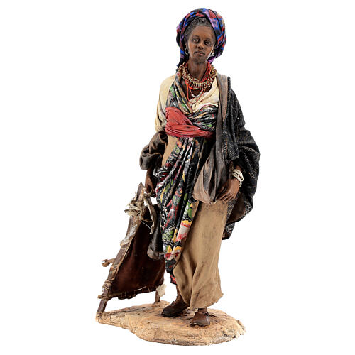 Moor woman with child, 30 cm Tripi atelier 2