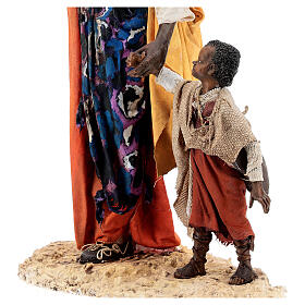 Moor woman with child in hand, 30 cm Tripi s2