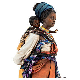 Moor woman with child in hand, 30 cm Tripi s4