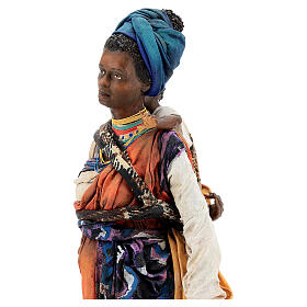 Moor woman with child in hand, 30 cm Tripi s7
