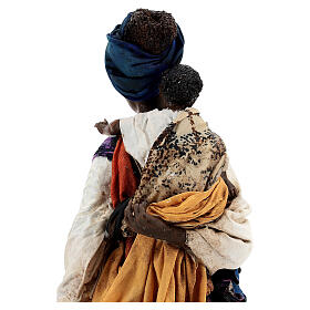 Moor woman with child in hand, 30 cm Tripi s9