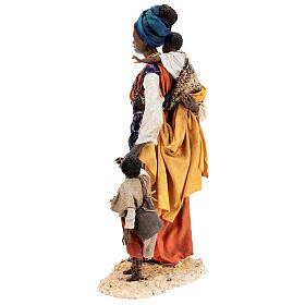 Moor woman with child in hand, 30 cm Tripi s10