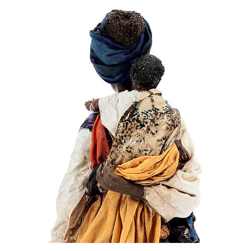 Moor woman with child in hand, 30 cm Tripi 6