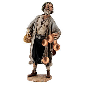Man with saddlebag, 30 cm Angela Tripi s1