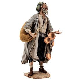 Man with saddlebag, 30 cm Angela Tripi s5