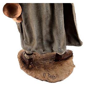 Man with saddlebag, 30 cm Angela Tripi s9