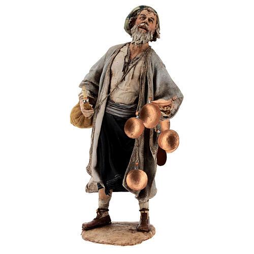 Man with saddlebag, 30 cm Angela Tripi 1
