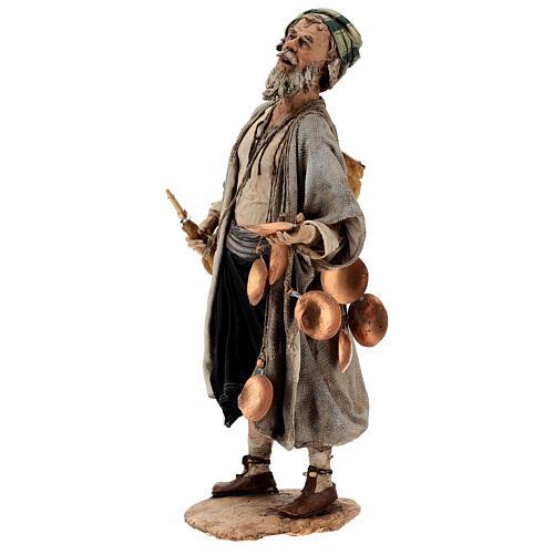 Man with saddlebag, 30 cm Angela Tripi 3