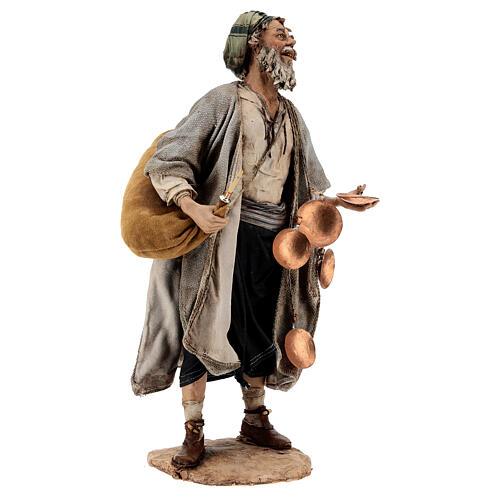Man with saddlebag, 30 cm Angela Tripi 5