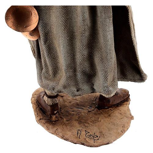 Man with saddlebag, 30 cm Angela Tripi 9