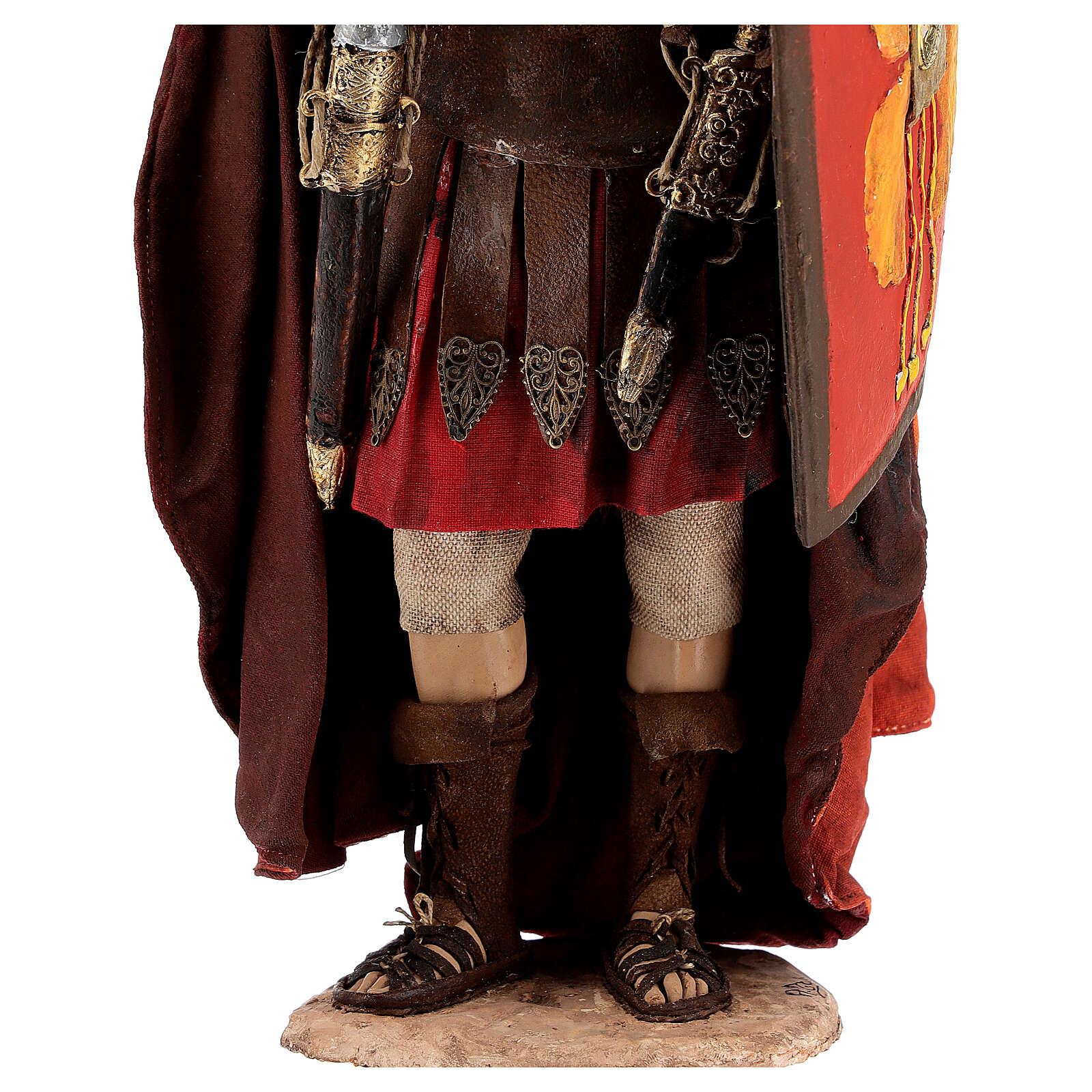 Soldato romano 30 cm Angela Tripi 4