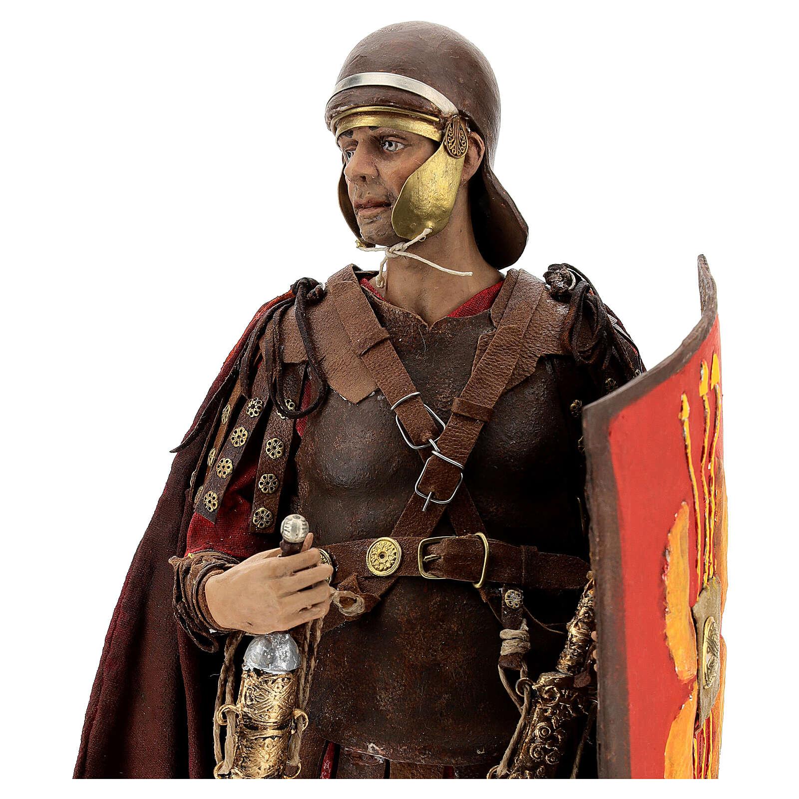 Roman soldier statue, 30 cm Angela Tripi 4