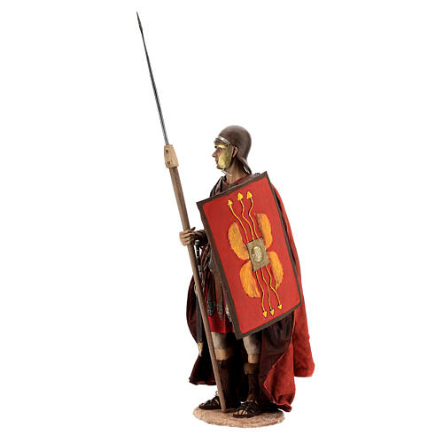 Roman soldier statue, 30 cm Angela Tripi 3