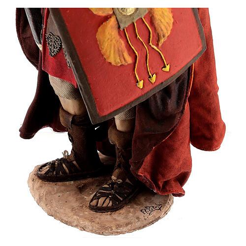 Roman soldier statue, 30 cm Angela Tripi 9