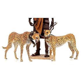 Esclavo con guepardos 30 cm Angela Tripi s2