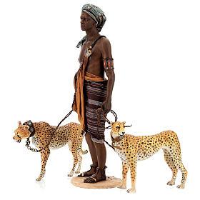 Esclavo con guepardos 30 cm Angela Tripi s8