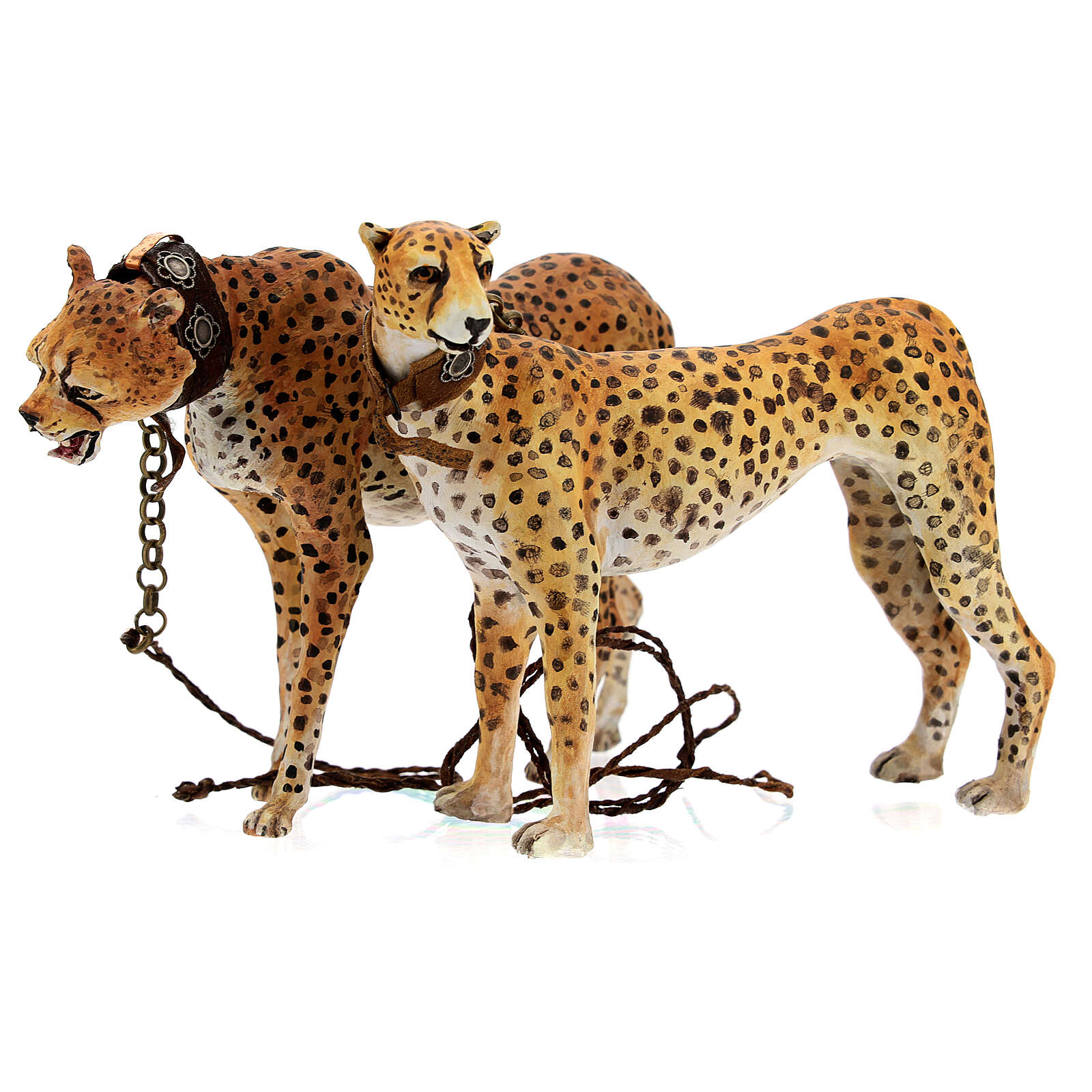 Schiavo con ghepardi 30 cm Angela Tripi 4
