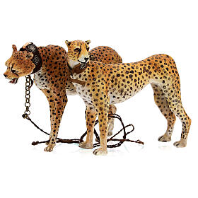 Schiavo con ghepardi 30 cm Angela Tripi s4