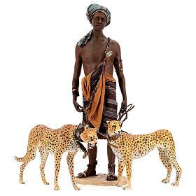 Slave with cheetahs, 30 cm Angela Tripi s6