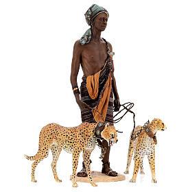 Slave with cheetahs, 30 cm Angela Tripi s10