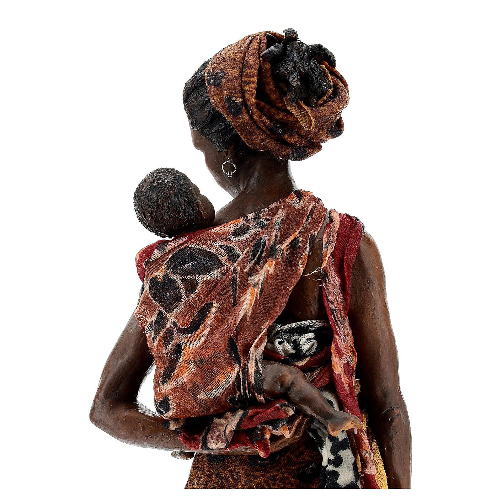 Femme maure avec enfant à bras 30 cm Tripi 4