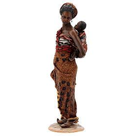Femme maure avec enfant à bras 30 cm Tripi s3
