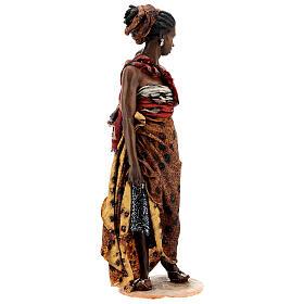 Femme maure avec enfant à bras 30 cm Tripi s5