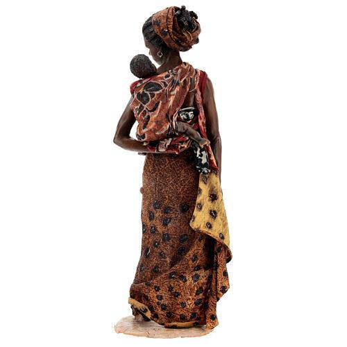 Femme maure avec enfant à bras 30 cm Tripi 7