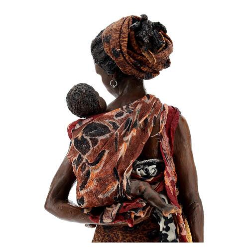 Femme maure avec enfant à bras 30 cm Tripi 8