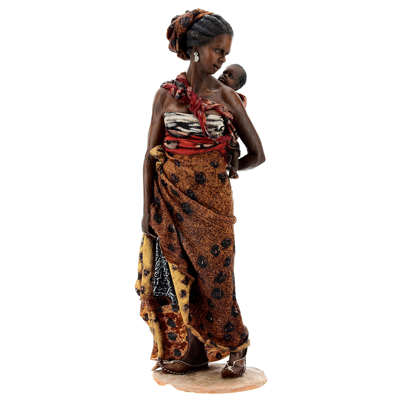 Moor woman with child in arms, 30 cm Tripi 4