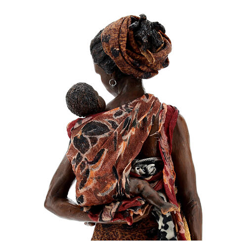 Moor woman with child in arms, 30 cm Tripi 8