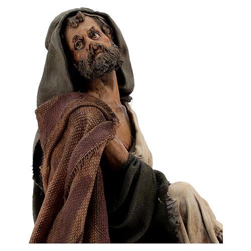 Pastor con cordero 18 cm Angela Tripi 2