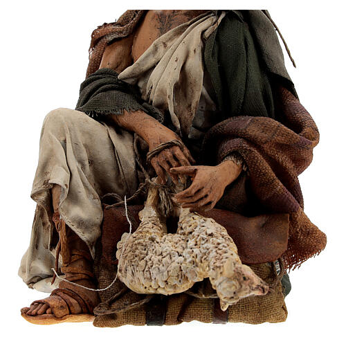 Pastor con cordero 18 cm Angela Tripi 4