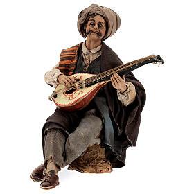 Suonatore di mandolino 18 cm Angela Tripi s1