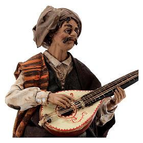 Suonatore di mandolino 18 cm Angela Tripi s2