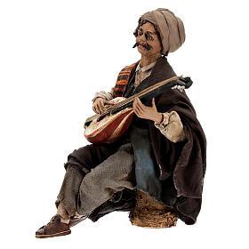 Suonatore di mandolino 18 cm Angela Tripi s3