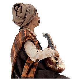 Suonatore di mandolino 18 cm Angela Tripi s4