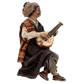 Suonatore di mandolino 18 cm Angela Tripi s5