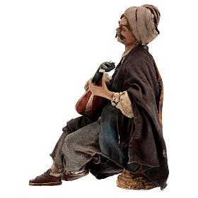 Suonatore di mandolino 18 cm Angela Tripi s6