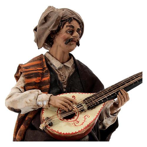 Suonatore di mandolino 18 cm Angela Tripi 2