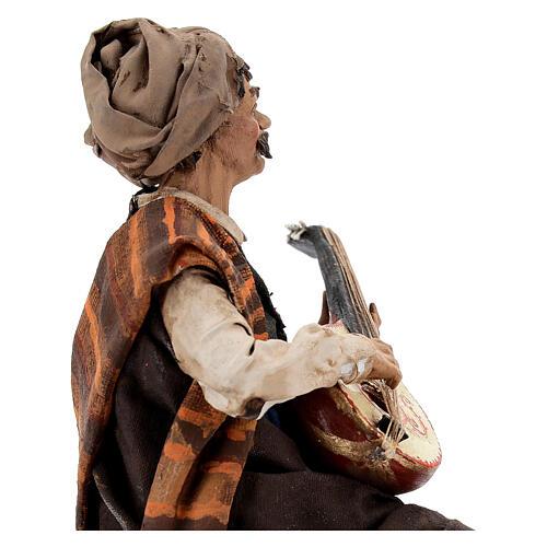 Suonatore di mandolino 18 cm Angela Tripi 4