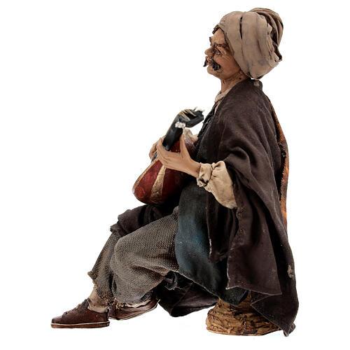 Suonatore di mandolino 18 cm Angela Tripi 6
