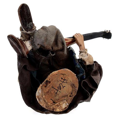 Suonatore di mandolino 18 cm Angela Tripi 8