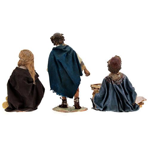 Gruppo 3 ragazzi giocano 18 cm Tripi 11