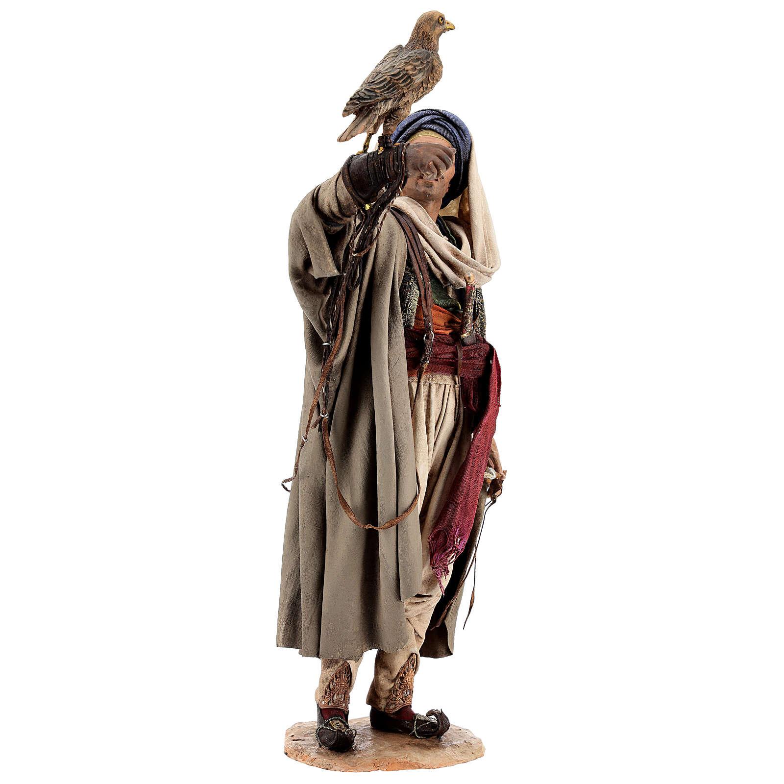 Falconer statue, 30 cm Angela Tripi nativity 4