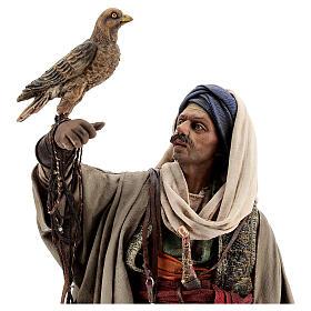 Falconer statue, 30 cm Angela Tripi nativity s2